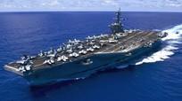 USS Carl Vinson diễn tập cùng chiến hạm Nhật trên Biển Đông