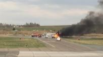 MiG-31 Nga bốc cháy do thử nghiệm tên lửa siêu thanh Kh-47M2 Kinzhal?