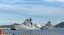 Sức mạnh toàn năng chiến hạm Nga thăm Cam Ranh