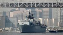 Tàu chiến Anh đi gần quần đảo Hoàng Sa