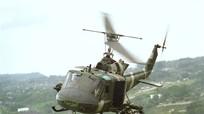 UH-1 Gunship Việt Nam trong chiến tranh biên giới