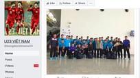 57.000 người lộ thông tin vì Fanpage giả mạo U23 Việt Nam