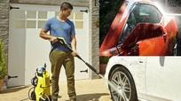 """Rửa ô tô bằng máy rửa xe cao áp có thể """"giết chết"""" động cơ"""