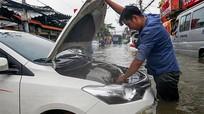 Cách xử lý khi ôtô bị ngập nước để tránh mất thêm tiền