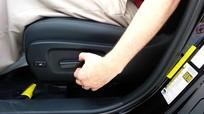 Chức năng nhớ vị trí điều khiển ghế ô tô không phải ai cũng biết