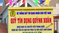 Quỹ Tín dụng nhân dân phường Quỳnh Xuân (TX. Hoàng Mai) thành lập Phòng Giao dịch số 2