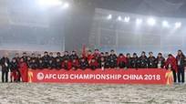 14 giờ, Thủ tướng Nguyễn Xuân Phúc tiếp đội tuyển U-23 VN