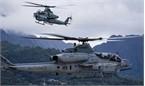 Trực thăng quân sự đâm xuống khu dân cư Nhật