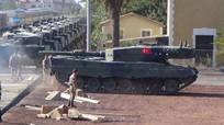 Nữ chiến binh người Kurd bắn một phát cháy rụi xe tăng Thổ Nhĩ Kỳ