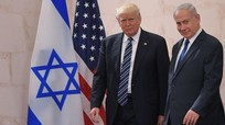 Israel giáng đòn tấn công vào Dải Gaza