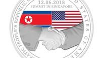 Singapore phát hành tiền xu vinh danh cuộc gặp gỡ giữa lãnh đạo Hoa Kỳ và Bắc Triều Tiên
