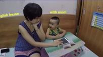 Mẹ 9X bày cách khiến bé thích nói tiếng Anh hàng ngày