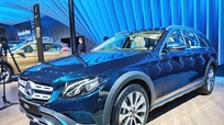 Mercedes-Benz ra mắt mẫu xe đa năng E-Class All-Terrain 2018 tại Ấn Độ