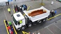 Kinh nghiệm lái xe gần xe công-ten-nơ, xe tải cỡ lớn