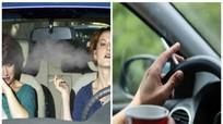 Hút thuốc trong ô tô - 'tử thần giấu mặt'