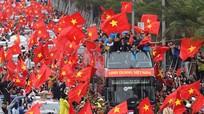 U23 Việt Nam được chào đón hân hoan chưa từng có