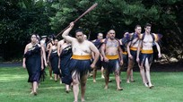 Những hình ảnh chào đón cấp cao đậm chất thổ dân Maori