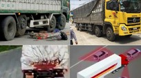 Tai nạn kinh hoàng từ những điểm mù của xe tải lớn