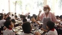 Triển khai thực đơn chuẩn cho học sinh Tiểu học bán trú