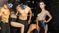 Màn lột váy khoe thân sexy được cho là phản cảm của ca sỹ Như Quỳnh