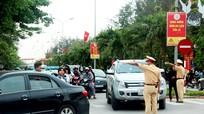Phân luồng tránh ùn tắc giao thông trong đêm khai mạc Lễ hội du lịch Cửa Lò 2018