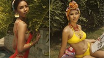 Xem hình thể nóng bỏng được cho chưa từng 'dao kéo' của Á hậu Nguyễn Thị Loan