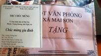 Xã biên giới Nghệ An tặng quà cho công dân mới chào đời