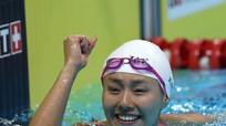 Sắc đẹp 'nghiêng nước' của kình ngư phá kỷ lục thế giới ở Asiad