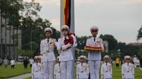 Lễ thượng cờ rủ Quốc tang cố Chủ tịch nước Trần Đại Quang