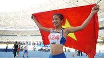 Nữ VĐV điền kinh phá kỷ lục đại hội thể thao toàn quốc