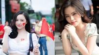Ảnh về những Girls xinh nổi tiếng sau 1 đêm khi cổ vũ ĐT Việt Nam
