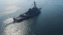 Công bố video về cuộc chạm trán của khu trục hạm Nga-Mỹ