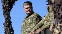 Poroshenko khoe thử nghiệm vũ khí tên lửa gần biên giới Ukraine - Nga