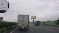 Bị phạt 2,5 triệu đồng vì 'phớt lờ' tín hiệu xe ưu tiên trên cao tốc
