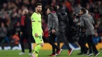 Messi không vui dù lần thứ 6 đoạt Chiếc giày vàng châu Âu