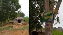 Nhóm đối tượng ở Nghệ An lập chốt, trưng biển 'cấm quay phim, chụp ảnh' để khai thác rừng trái phép