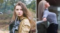 Nữ binh sỹ đẹp hút hồn khiến đối thủ 'chùn bước'
