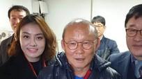 Cô gái xinh đẹp được HLV Park Hang-seo ưu ái ở Hàn Quốc là ai?