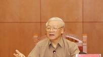 Đồng chí Nguyễn Phú Trọng chủ trì cuộc họp Ban Chỉ đạo Trung ương phòng, chống tham nhũng