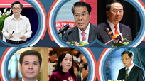 6 Bí thư Tỉnh ủy được điều động, luân chuyển về Trung ương