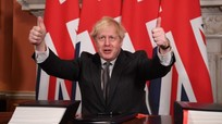 Nước Anh phê chuẩn thỏa thuận hậu Brexit, hoàn tất việc rời khỏi EU