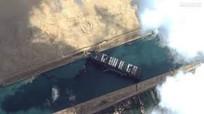 Giải cứu 'tàu khủng' mắc kẹt tại kênh đào Suez