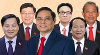Bộ máy Chính phủ vừa được Quốc hội phê chuẩn