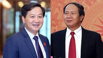 Danh sách 2 Phó Thủ tướng và 12 thành viên Chính phủ vừa được Quốc hội phê chuẩn