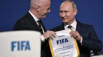 Ông Putin gặp Chủ tịch FIFA bàn việc chuẩn bị cho World Cup
