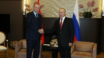 Putin khuyên Erdogan tiêm bổ sung với Sputnik V