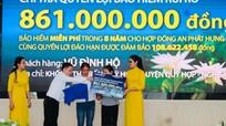 Bảo Việt Nhân thọ Bắc Nghệ An chi trả 969 triệu đồng quyền lợi bảo hiểm cho khách hàng rủi ro