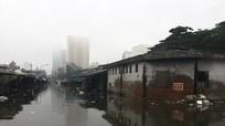 Chợ Vinh lại ngập chìm trong biển nước