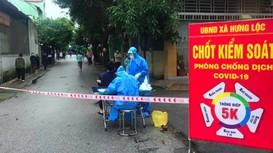 TP.Vinh mở rộng vùng phong tỏa, xét nghiệm tầm soát F0 tại ổ dịch Hà Huy Tập, Hưng Lộc