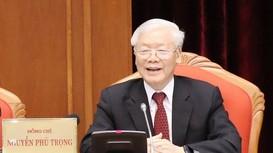 Video bài phát biểu của Tổng Bí thư, Chủ tịch nước Nguyễn Phú Trọng tại Hội nghị Trung ương 10